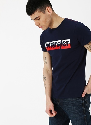 Lee&Wrangler Wrangler T-Shirt Lacivert